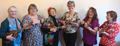 Ukuladies share a laugh