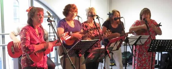 Ukuladies live at UFGB