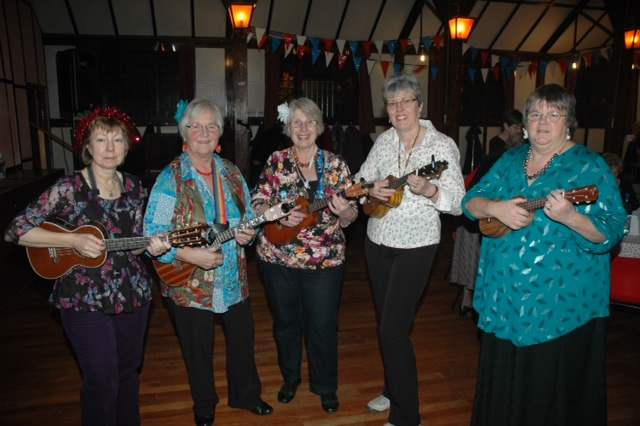 Ukuladies at Christmas event